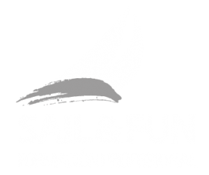 logo sail and fun formación negativo